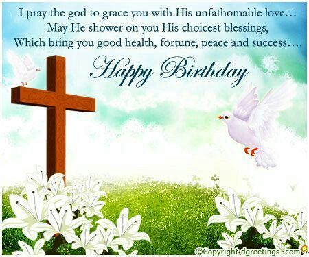 Happy Blessed Birthday Cards Religious Wishes Pictures