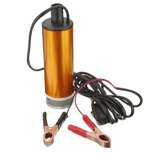 12V Car Truck Diesel Fuel Water Oil Submersible Pump With Switch    eBay