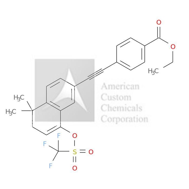 4-(2-(5,6-DIHYDRO-5,5-DIMETHYL-8-(((TRIFLUOROMETHYL)SULFONYL)OXY)-2-NAPHTHALENYL)ETHYNYL)BENZOIC ACID ETHYL ESTER is now  available at ACC Corporation