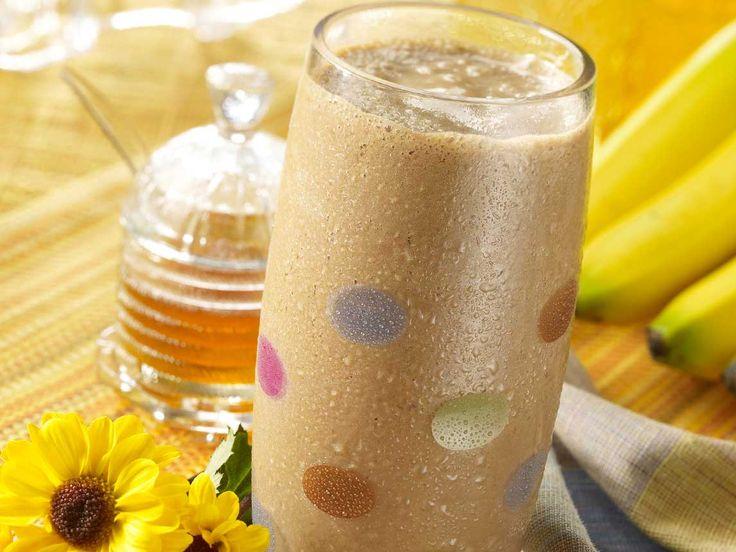 Crème à la banane et au chocolat au petit déjeuner
