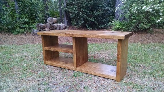 Shoe and Boot Cubby Bench by CoastalOakDesigns on Etsy