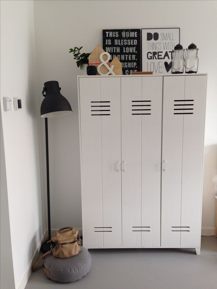 Mijn VT wonen lockerkast! Love it!