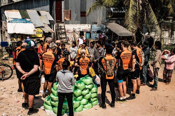 """Day 8 - """"The Finish Line""""  After a very long journey, we woke up on day 8 eagerly anticipating our final destination of Feeding Dreams Cambodia. What the group didn't realise, was that there was more in store for this particular day."""