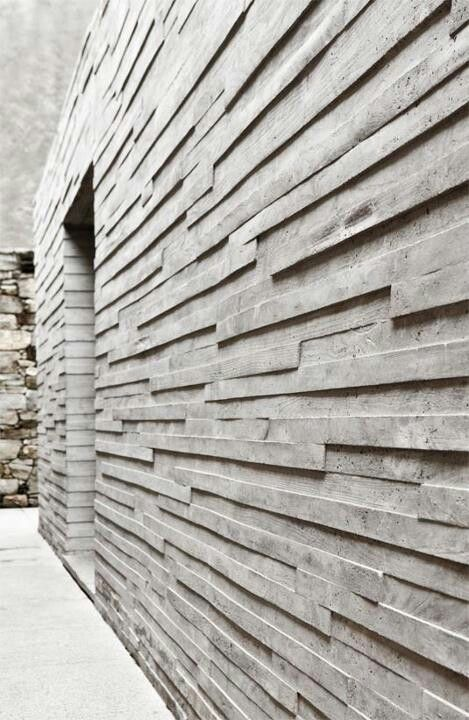 Visions of an Industrial Age // Concrete Wall #architecture #material #building                                                                                                                                                                                 More