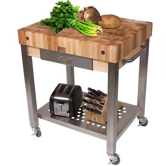 25 best ideas about Butcher block cart on Pinterest