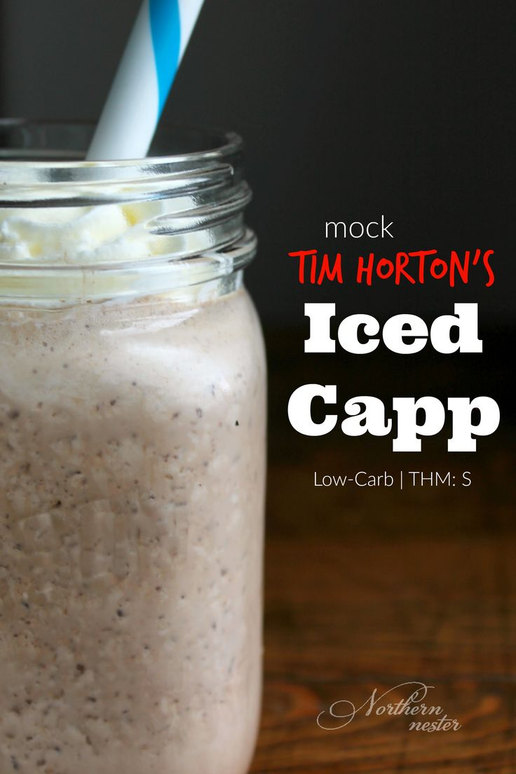 Mock Tim Horton's Iced Capp | THM: S - Northern Nester