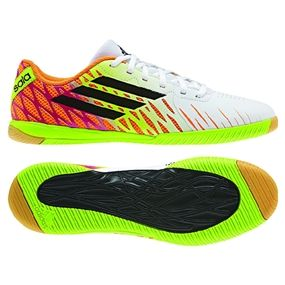 The Adidas Freefootball SpeedTrick Indoor Soccer Shoes add a little samba color flair to a great lightweight indoor soccer shoe.  Pick up your pair today at soccercorner.com