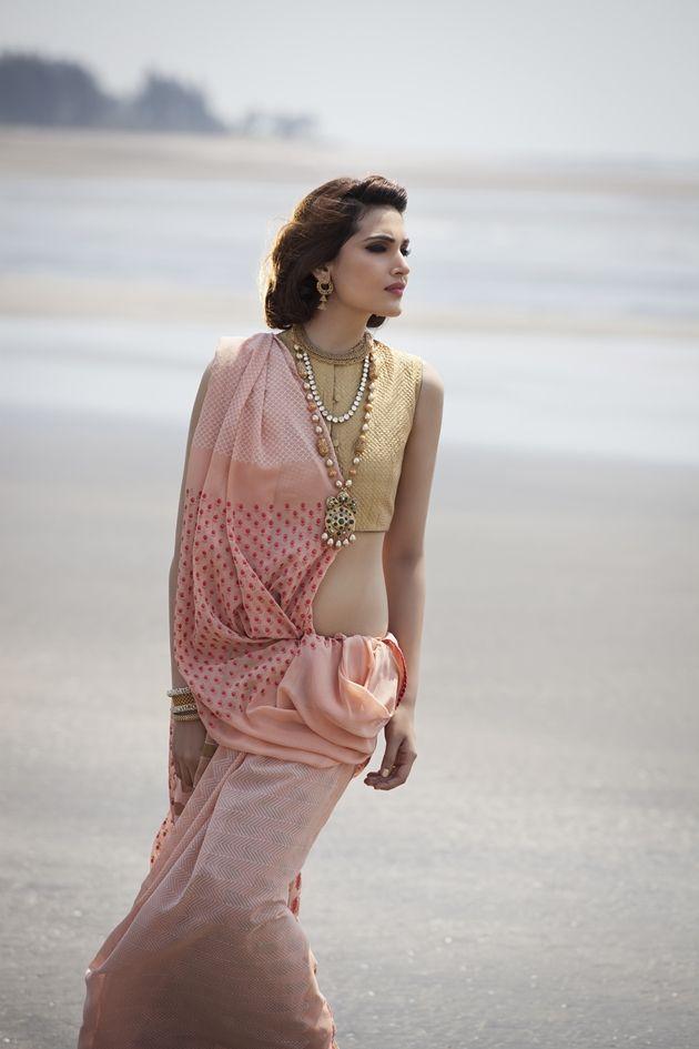 Vinit Bhatt for Bridelan 17 #saree #sari #blouse #indian #hp #outfit  #shaadi #bridal #fashion #style #desi #designer #wedding #gorgeous #beautiful