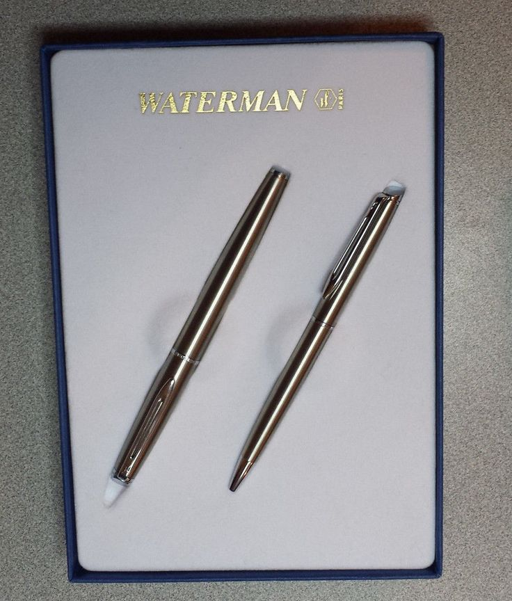 #antique  ebay Waterman Fountain Pen and Ballpoin Pen Set with 2 ink cartridges and box withing our EBAY store at  http://stores.ebay.com/esquirestore
