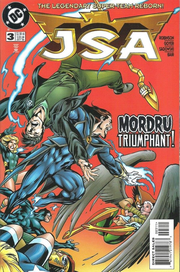 JSA Justice Society of America, MORDRU TRIUMPHANT (DC Comics) - oComics  Where Valor Fails... Will Magic Triumph?  Content: 		Information Language:		English Genre:			Superhero Story Titles:	Mordru Triumphant Characters:		Justice Society of America Type:			Cover  Read Now: http://ocomics.com/product-category/comics/dc-comics/  #DC #Comics #online #ocomics #mordrutriumphant