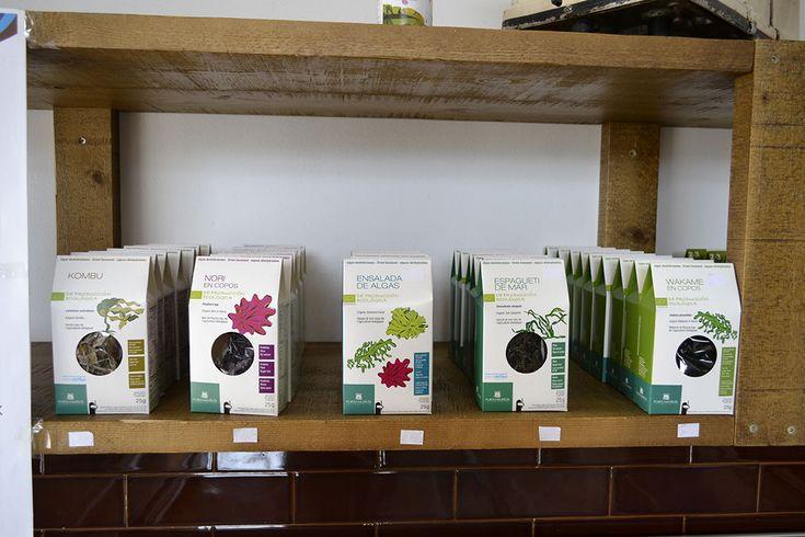 En nuestra tienda disponemos de una variedad selecta de #algas que enriquecerán tus menús. Elije y te lo mandamos a casa 😉 #Corcubión #CostaDaMorte #Depuradora #Mercamaris #Salabardo #Marisco  #TurismoGalicia