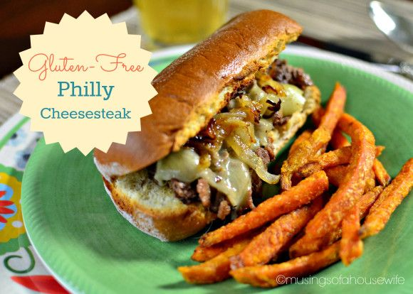 #glutenfree philly cheesesteak... oh yeah! with @Udi's Gluten Free Foods buns!
