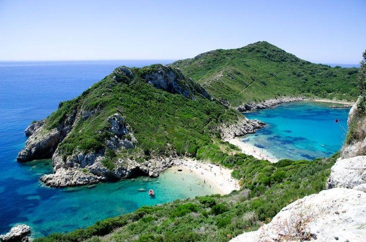 Corfou et la baie de Paleokastritsa