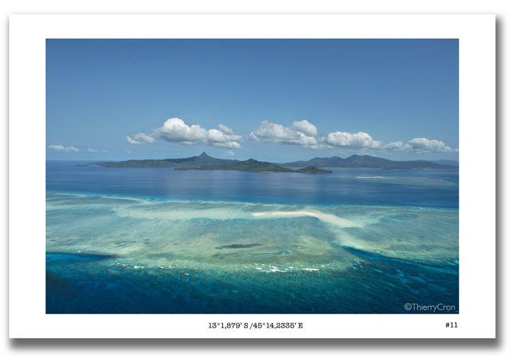La barrière de corail entoure #Mayotte et protège son lagon.