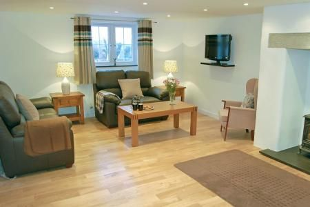 Living room | Home Park Cottages - Number One, Helstone, Camelford. 5 Star, 3 Bedroom. www.childfriendlyescapes.co.uk