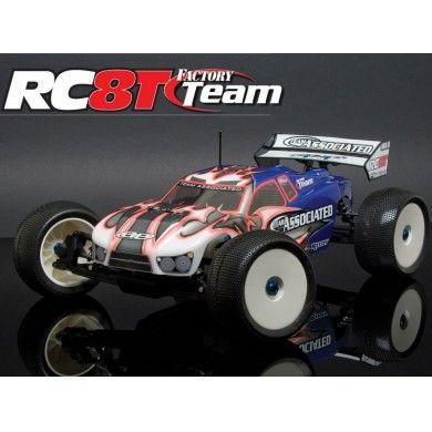 Zdalnie sterowany samochód RC8T Factory Team Championship Edition KIT Team Associated model przeznaczony dla miłośników modeli aut RC, którzy zamierzają samodzielnie wybrać podzespoły do swojego auta. Opis, dane techniczne, komentarze oraz film Video znajdziesz na naszej stronie, zostaw nam swój feedback:)