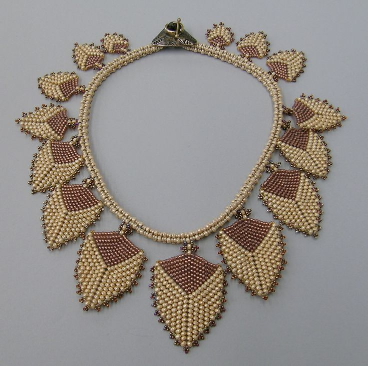 """Sand Petals necklace"" (Original Art from Sally Shore)"
