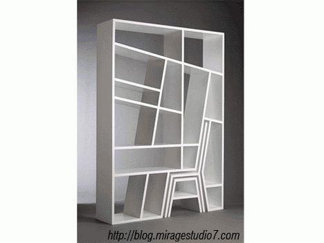 Mirage Studio7 Modern Bookcase. 36 best Fantastic Furniture images on Pinterest   Chairs