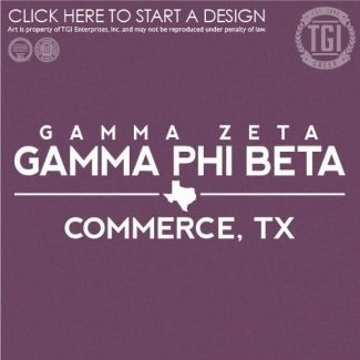 Gamma Phi Beta   ΓΦΒ   Sorority PR   PR   PR Shirt   TGI Greek   Greek Apparel   Custom Apparel   Sorority Tee Shirts   Sorority T-shirts   Custom T-Shirts