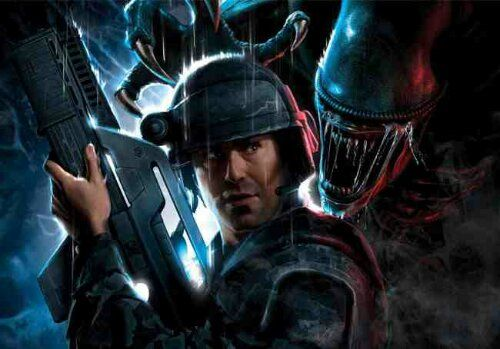 Aliens Colonial Marines concept art and images