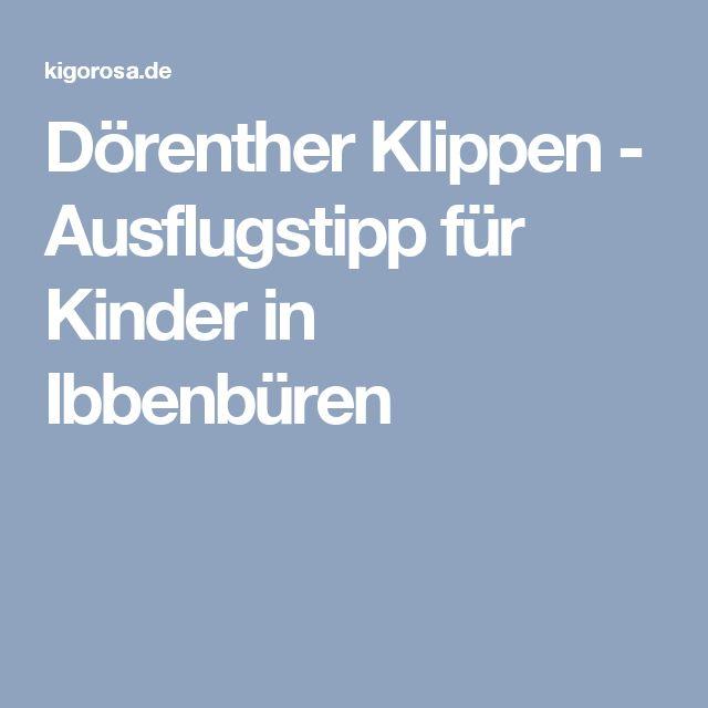 Dörenther Klippen - Ausflugstipp für Kinder in Ibbenbüren