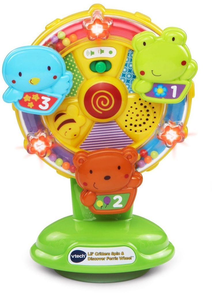 Unique Baby Toys For Girls : Vtech baby lil critters spin and discover ferris wheel