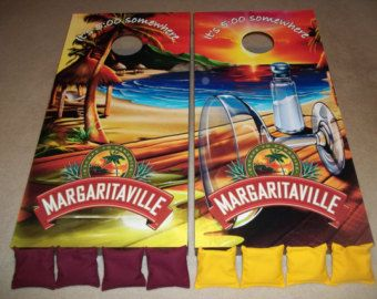 Margaritaville Corn Hole Boards - Bean Bag Toss Game