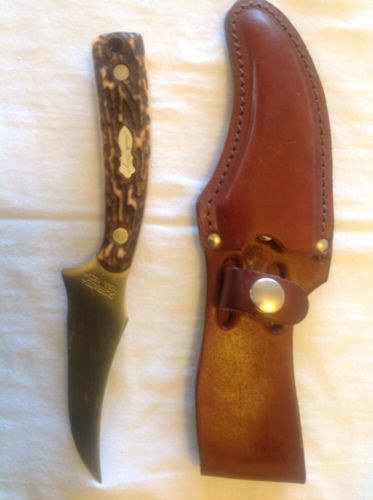 Details About Vintage 49 Ers Usa Schrade 498 Buck Hunting