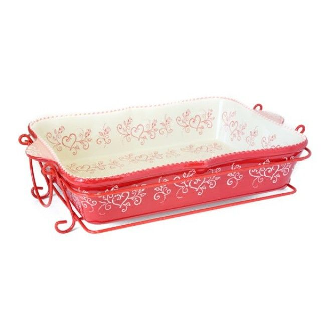 temp-tations® by Tara: temp-tations® Floral Lace 4-qt. Amoré Baker