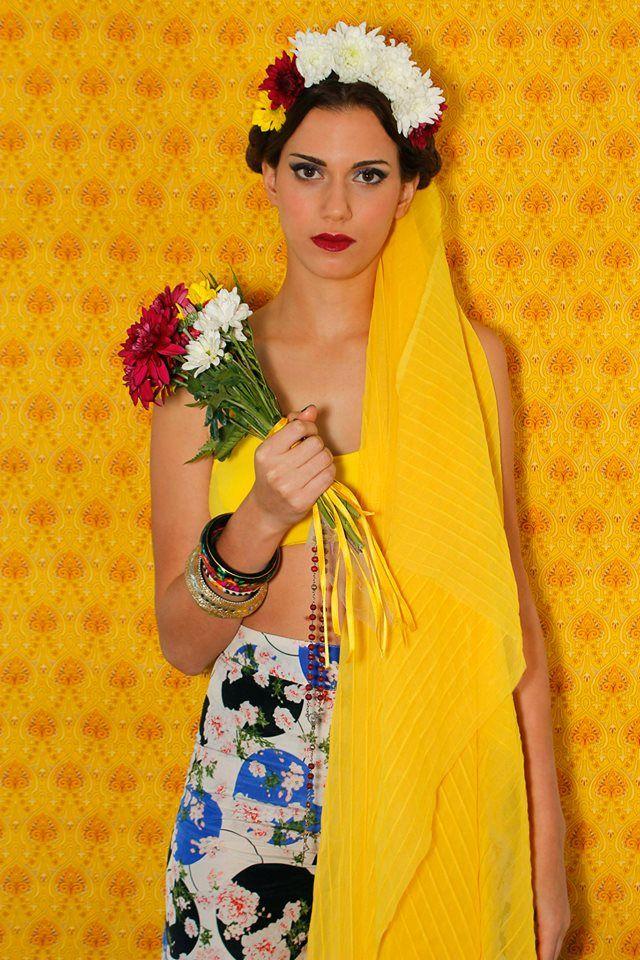 #frida #bride #style #makeup PH: María Inés de Azkue Make Up: Priscila Make Up Artist Producción Modas: Ani Miranda Producción general: Sonia Cremerius Modelo: Caro Barcas