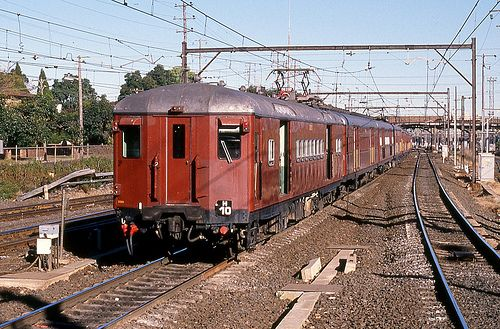 An old Red Rattler on the Sydney Suburban network