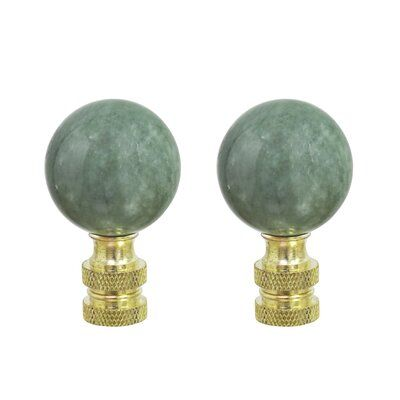 Astoria Grand Nannette Lamp Finial In 2020 Marble Ball Outdoor Light Fixtures Standard Lamps