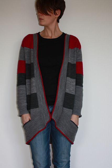 knit / knitting pattern BlueSand by La Maison Rililie: FO by 24sam on ravelry
