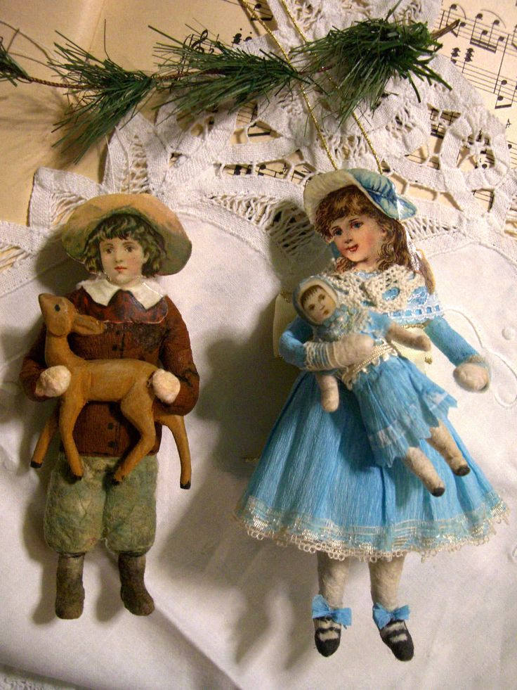 Дореволюционные новогодние игрушки фото