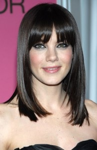 Shoulder length with bangs-love!