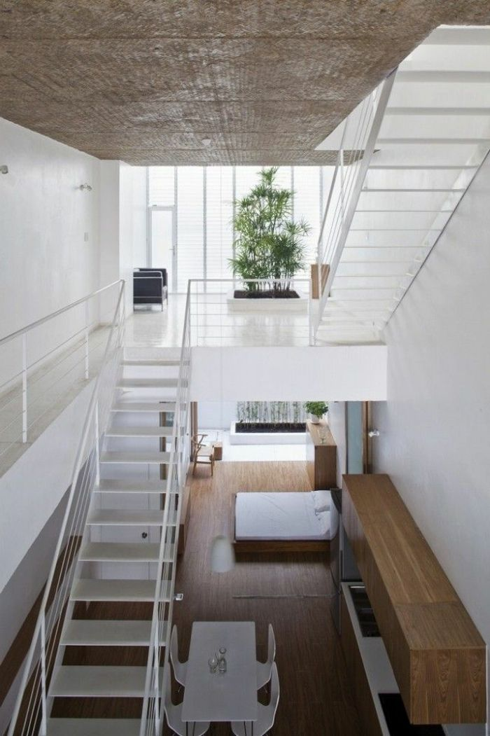 50 best escalier images on pinterest for Escalier interieur