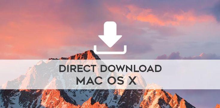 Direct Download macOS Sierra, El Capitan, Yosemite, Mavericks, Mountain Lion, Lion via @extracatchy
