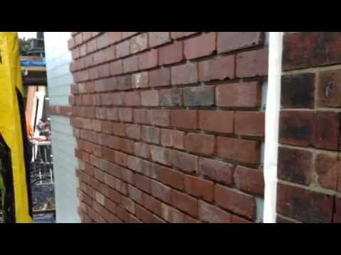 EZWall Real Brick Slip Cladding System | Euroform Building Boards
