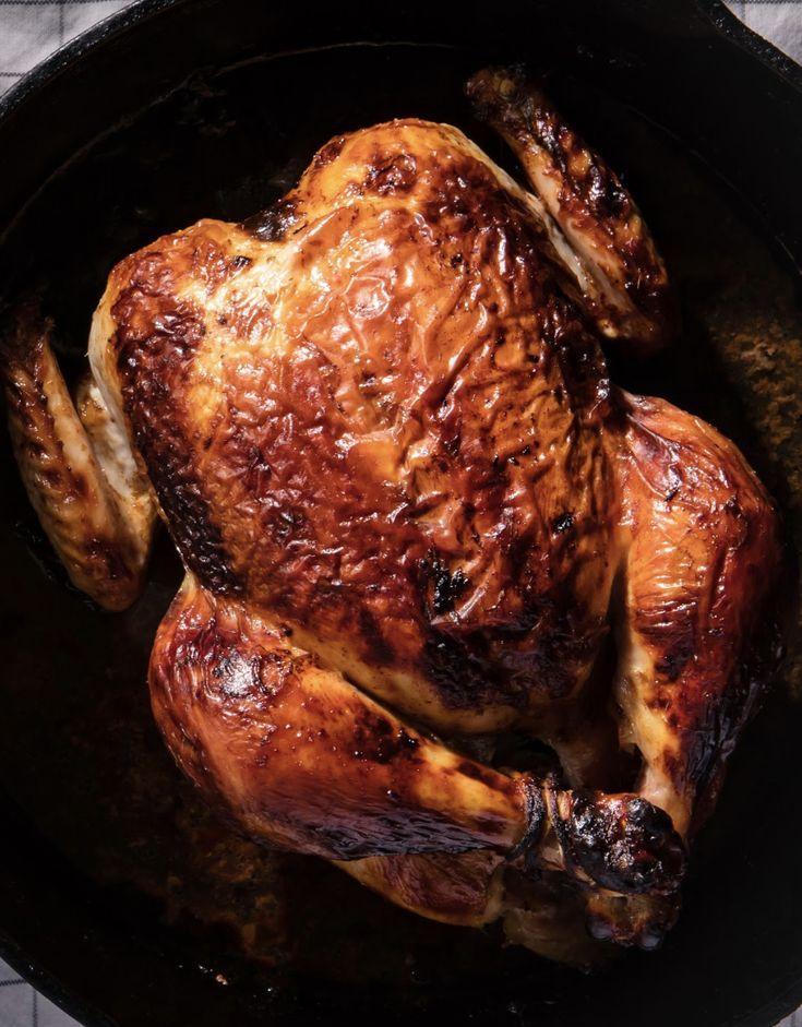 Buttermilk Marinated Roast Chicken Recipe Roast Chicken Recipes Recipes Roast Chicken