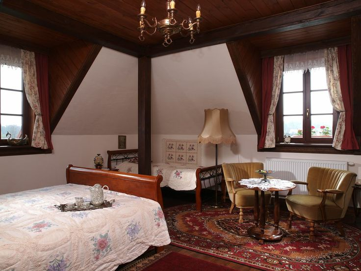 "Room number 7 in the ""Swans"" - Riverside Manor (Kiermusy, Poland)."