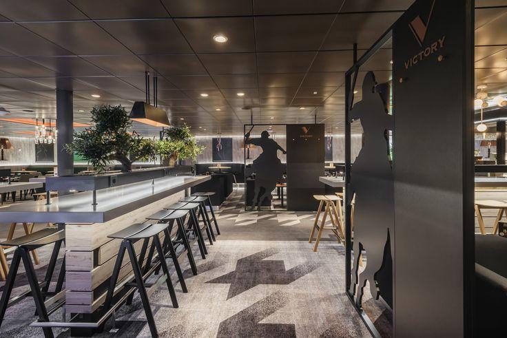 Tallink Megastar Sport bar deisgn