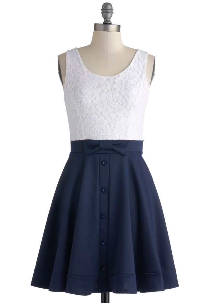 Town Festival Dress. Your town may be small, but the annual festival shows that it has a big heart!  #modcloth