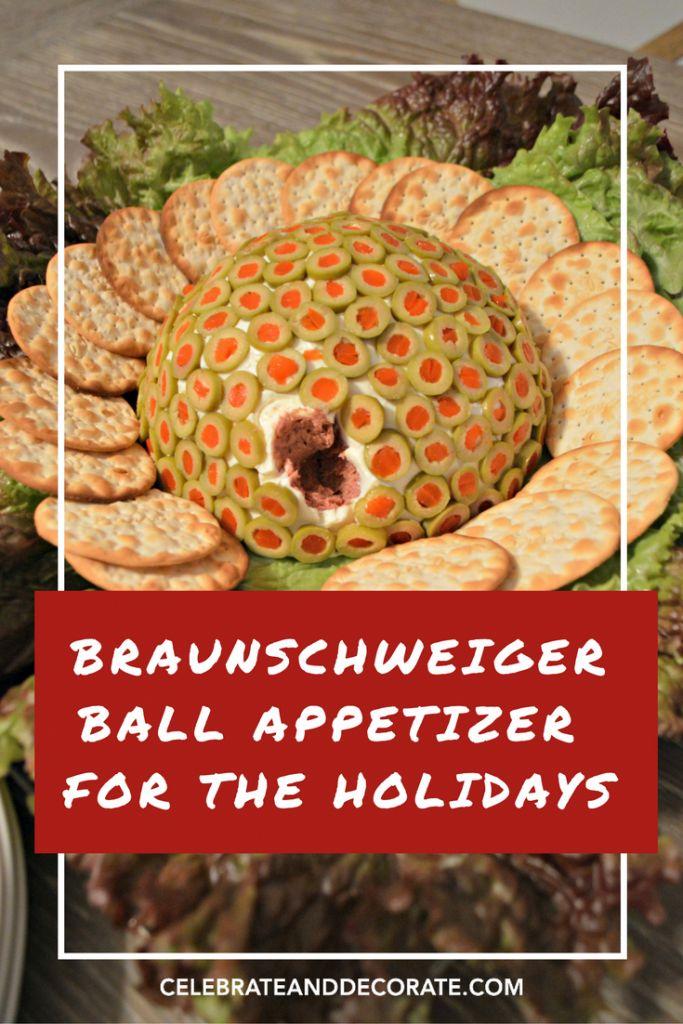 Braunschweiger Ball Party Appetizer