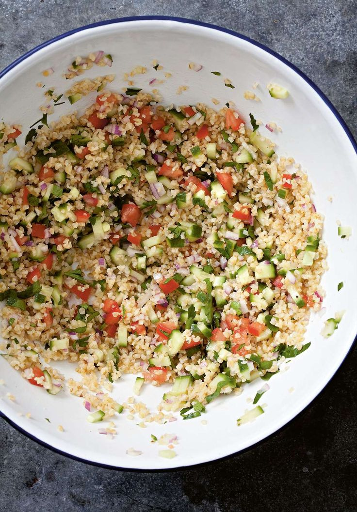 Burghul salad by Rebecca Seal from The Islands of Greece | Cooked