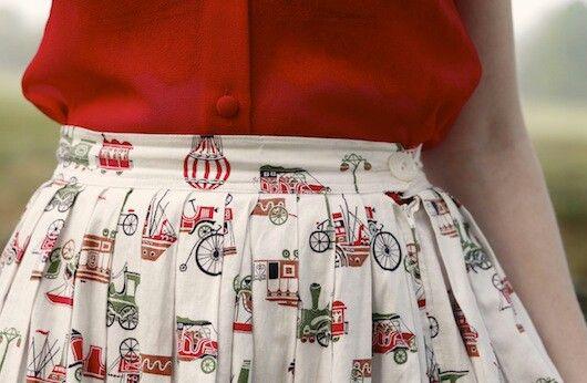 Lovely vintage objects pattern