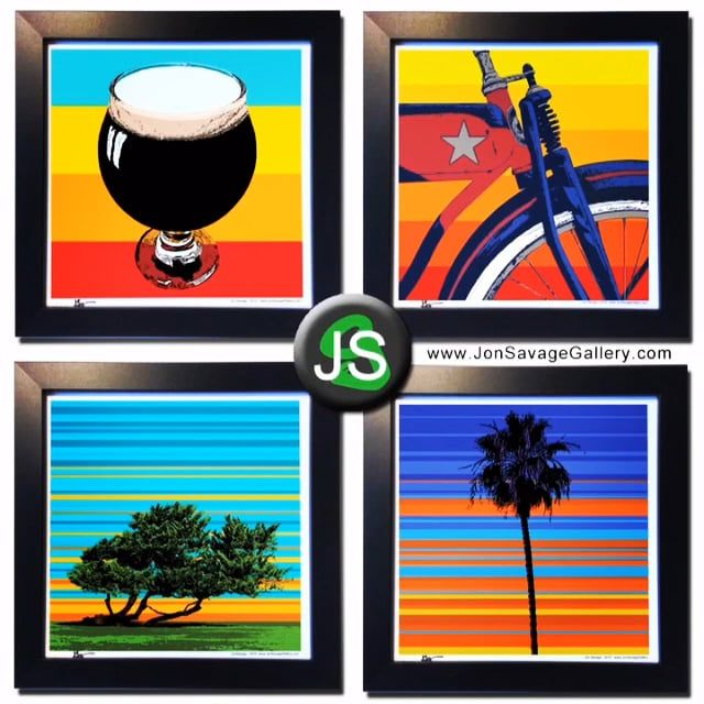 These artworks are ideal for gifts for your loved ones. If you want it to be delivered, the deadline date is no later than June 10th. There are other artworks available for purchases. http://JonSavageGallery.com