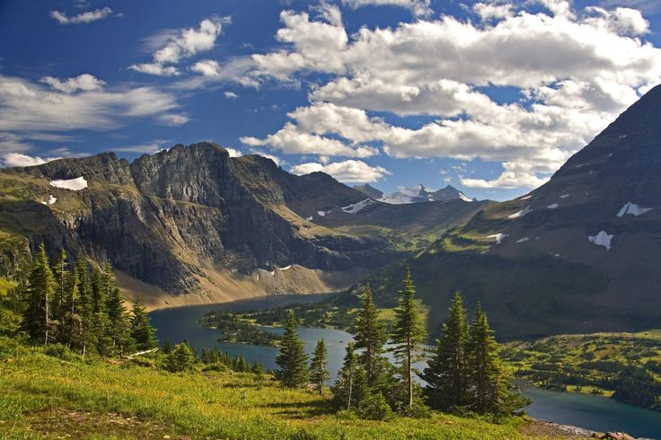 Love to be able to ride this park...simply beautiful...Glacier National Park
