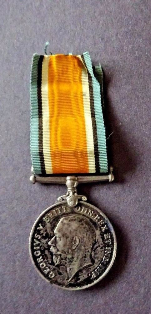 W.W.1 New Zealand Expeditionary Force Silver British War Medal (N.Z.E.F)
