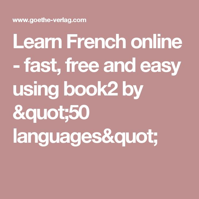 Learn French Free or...Learn French Properly? - Babbel.com