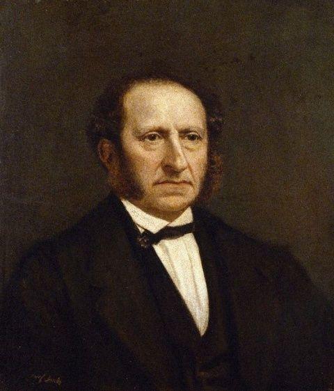 Jozef Israëls - Portret van Jacobus Hijmans